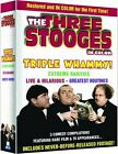 Three Stooges - Triple Whammy 3-Pack (DVD, 2008, 3-Disc Set) New SEALED