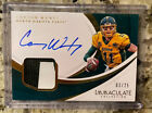 Carson Wentz 2018 Panini Immaculate Collection Autograph Auto Patch 25 Eagles