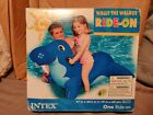 Intex Wally The Walrus Ride on Pool Float Inflatable NIB RARE