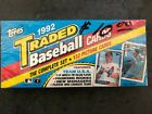 Sealed 1992 Topps Baseball Cards Complete Traded Set #1T-132T