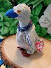 Ty Buzzy The Buzzard July 6 2000 Bdate Beanie Baby Gorgeous eyes and color bird