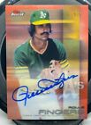 SN Red 5 5 ROLLIE FINGERS 2016 Topps Finest Refractor Autograph AUTO ATHLETICS