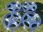 4 16 BMW Z3 OEM CHROME WHEELS RIMS 59212 1997 2002