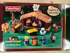 Fisher Price Little People Christmas Story Nativity Sealed Box 2011 New Gift