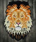 Large Lion of The Tribe of Judah Embroidered Patch Iron On Applique DIY 105
