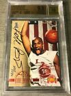 390 Kobe Bryant 1996 score board auto on card BGS 9.5 GEM MINT RC ROOKIE