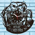 NIGHTMARE BEFORE CHRISTMAS CLOCK GIFTS JACK SKELLINGTON AND SALLY HOME DECOR ART