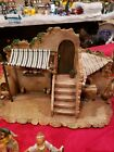 Fontanini Rare Retired Nativity House Front 5 scale