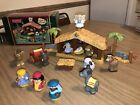 Fisher Price Little People Christmas Story Nativity Scene Tested Lights  Sounds