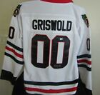 CHEVY CHASE AUTOGRAPHED SIGNED CHICAGO BLACKHAWKS JERSEY BECKETT COA
