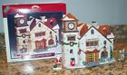 1998 Lemax Jukebox Junction Pine Valley Town Hall Christmas Village House 85319