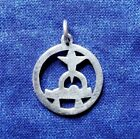 James Avery Nativity Jesus Manger Sterling Silver Pendant Charm
