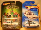 Hot Wheels Retro Entertainment Ghostbusters Cartoon Series Ecto 1 First Edition