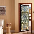 Static Cling Frosted Stained Glass Door 3D Sticker Film Privacy Decor