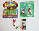 JERRY RICE Starting Lineup Football Action Figures Lot of 4 w/ 1997 MVP, 1998