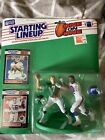 1989 STARTING LINEUP - SLU - NFL - PETE O'BRIEN & LAWRENCE TAYLOR - ONE ON ONE