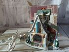 Lemax candle shop enchanted Forest House village Xmas