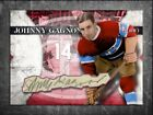 JOHNNY GAGNON Custom Cut signed autographed card Montreal Canadiens