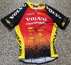 Vintage 1996 Red Volvo Cannondale Reebok Skinsuit Black Short Sleeve Medium