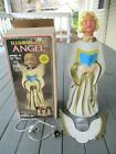 Vintage NEW EMPIRE Christmas Blow Mold Angel 30 Box
