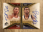 2009-10 SP Game Used Derrick Rose OJ Mayo Multimarks Dual Autograph Auto Card