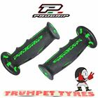 Progrip Handlebar Grips 601 Dual Compound Scooter Moped Grips Black Green Set
