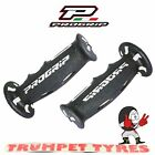 Progrip Handlebar Grips 601 Dual Compound Scooter Moped Grips Black Grey Set