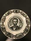 Vintage First Issue Collectors 1958 Abraham Lincoln 150th Birth Anniv Plate
