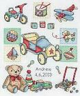 Anchor Counted Cross Stitched Kit ACS39 Boy Birth New 24x20cm