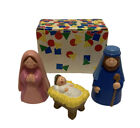 Vintage Avon My First Christmas Nativity Story Collection Holy Family 1993