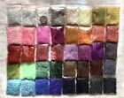 Wholesale Bulk GIANT Lot 800g 11 0 Glass Seed Beads Free Ship 40 AWESOME COLORS