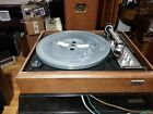 BSR MODEL 810 TRANSCRIPTION TURNTABLE PLAYER Not working sold as is for parts