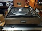 ELAC Miracord 620U Record Player Turntable With Dust Cover Works Great