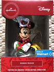 2020 Hallmark Red Box Christmas Tree Ornament  MINNIE MOUSE w/Present - NEW