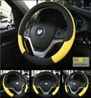 Car Steering Wheel Cover Leather Car Steering Sleeve Car Accessories Auto