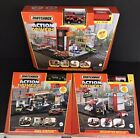 2021 Matchbox Action Drivers Fire Station Helicopter Rescue Fuel Station 3 Set