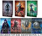 Young Adult THRONE OF GLASS Series by Sarah Maas HARDCOVER Collection Books 1 7