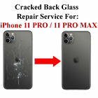 Apple IPhone 11 11 Pro 11 Pro Max Back Glass Repair Service Top Quality Work