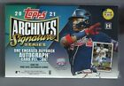 2021 TOPPS ARCHIVES SIGNATURE SERIES ACTIVE PLAYER EDITION HOBBY BOX