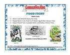 2021 Garbage Pail Kids Food Fight Collector Edition 1 2 Case 4 Hobby Box