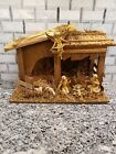 Nativity With Wooden Barn