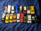 Large Lot of 18 diecast assorted Maisto metal cars 135 to 150 scale vintage