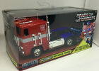TRANSFORMERS Optimus Prime Autobot Truck Diecast 124 Jada Hollywood 10 inches