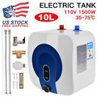 Home Electric Tankless Hot Water Heater Kitchen Bathroom 95 167110V 10L