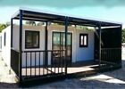 EXPANDABLE HOUSE Butterfly Style Prefab House Fully Assembled 38 sqm Custom