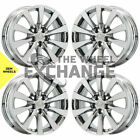 18 Lexus LS LS460 PVD Chrome wheels rims Factory OEM set 4 74221 EXCHANGE