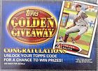 See the Entire 2012 Topps Baseball Golden Giveaway Golden Moments Set 106