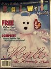 Mary BETH's Ty Beanie World Monthly 1999 Vol 2 No.4  Halo The Heavenly Bear