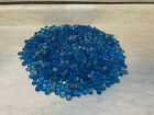 Crystal Sapphire Blue Round Domed Czech Glass Cabochon 10mm