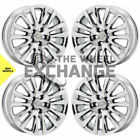 19 Lexus LS460 PVD Chrome wheels rims Factory OEM set 74284 EXCHANGE
